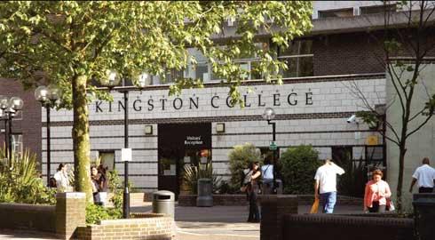 Du học Anh Quốc: Trường Cao đẳng KINGSTON