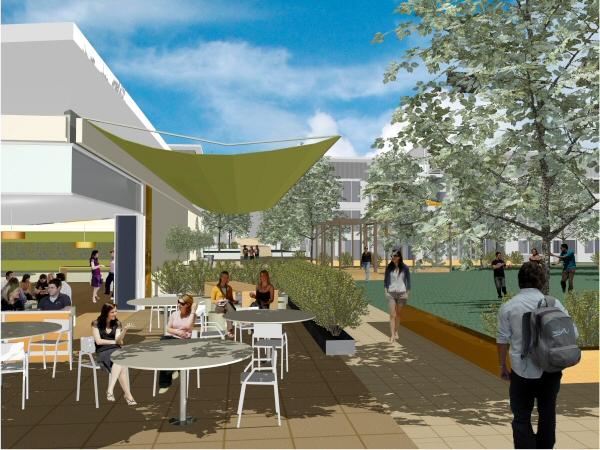 new residences heart Đại học Canberra   Nhóm trường đại học thế hệ mới tại Úc
