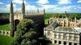 Khung cảnh trường đại học Cambridge