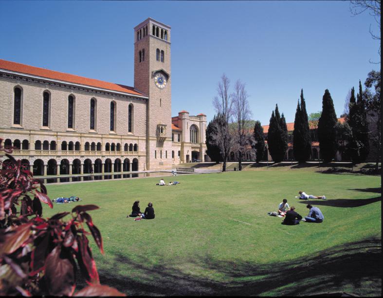 university of wesetern australia campus Du học Úc cùng đến với trường đại học Tây Úc