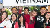 Các bạn sinh viên Việt Nam tại trường đại học WOLLONGONG