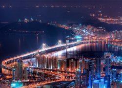Busan tuyệt đẹp về đêm