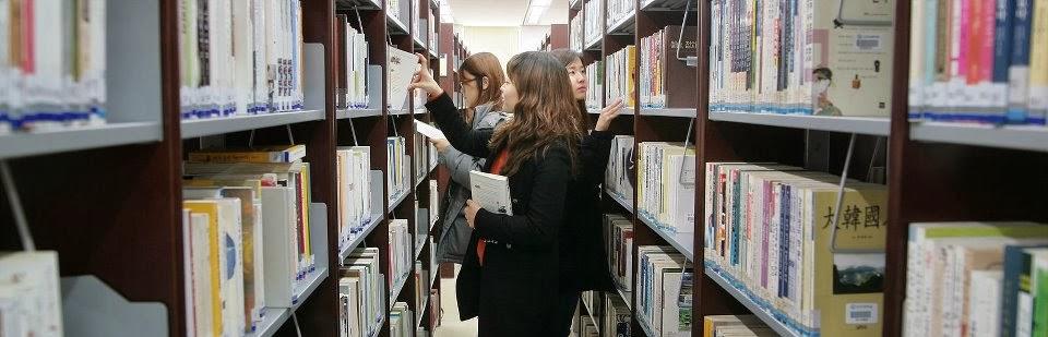 Thư viện trường đại học Dankook với rất nhiều đầu sách cũng như trang thiết bị hiện đại dành cho sinh viên
