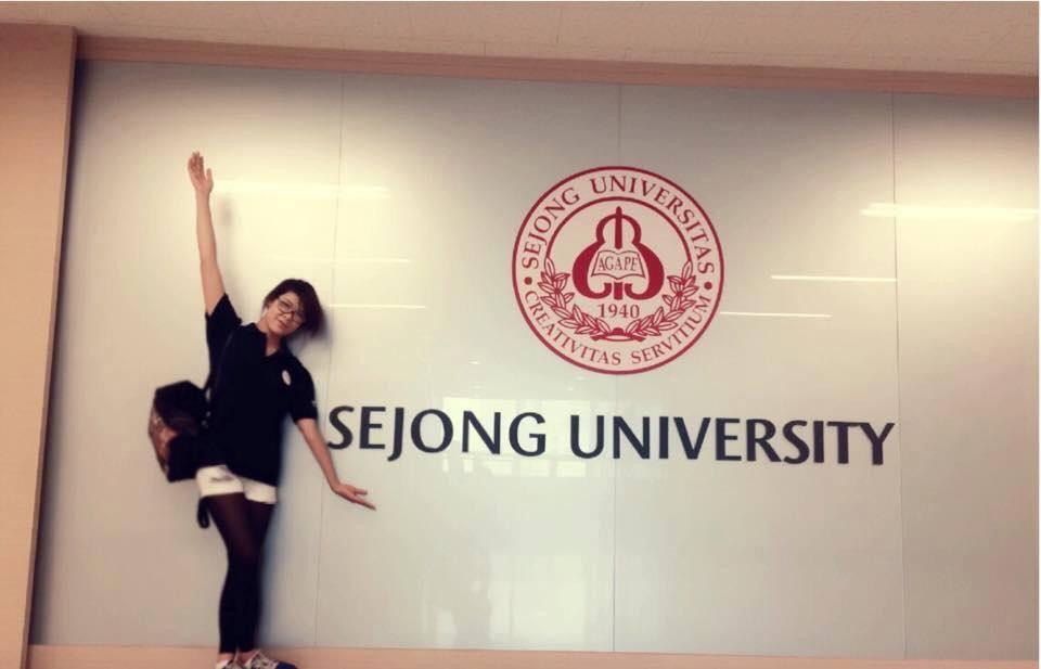 Học sinh AMEC tại đại học Sejong