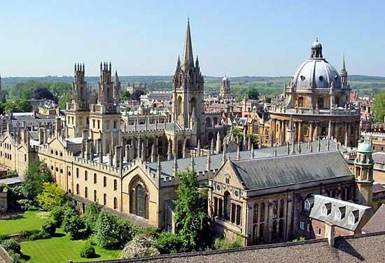 Học bổng Toàn phần Sau đại học tại Đại học Oxford, Vương quốc Anh 2016