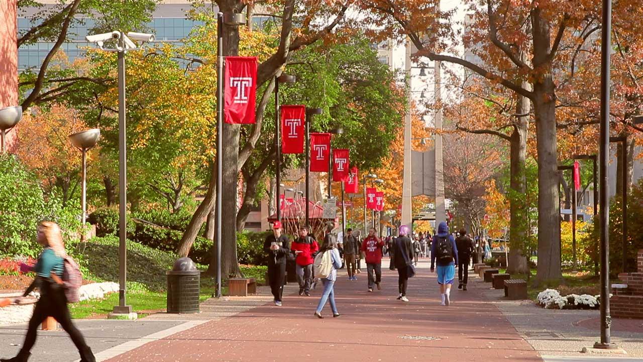 Học bổng du học Mỹ 2017 đại học Temple mở ra cơ hội mới