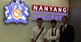 Thực tập có trả lương tại học viện quản lý Nanyang
