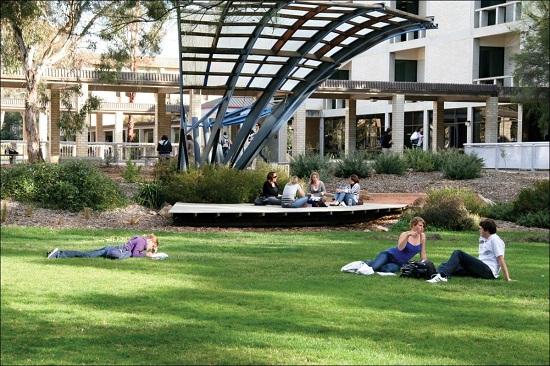 Góc trường đại học Canberra