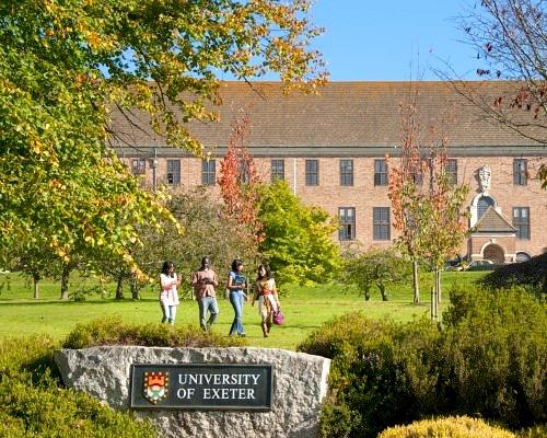 Du học Anh tại trường đại học Exeter danh tiếng