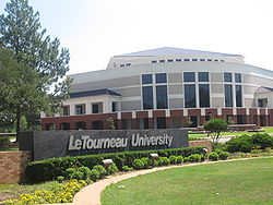Thông tin du học Mỹ trường đại học Letourneau