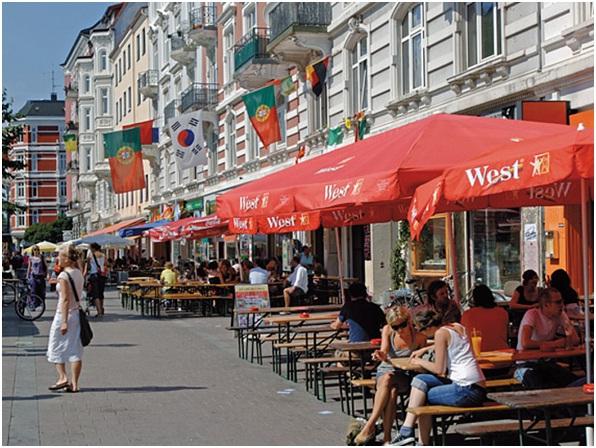 Đến với đất nước Đức – đến với Hamburg – đến với thành phố cảng