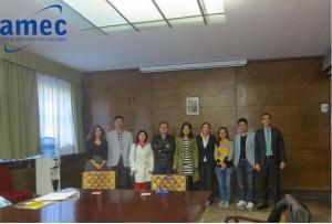 Đại diện Amec cùng đại diện trường Tây Ban Nha