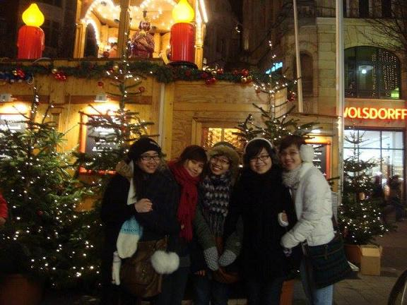 Các bạn sinh viên Việt Nam tại Đức