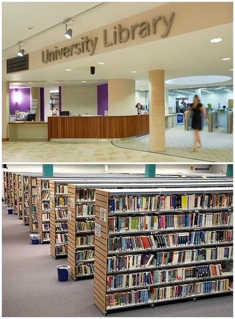 Thư viện trường đại học Anglia Ruskin