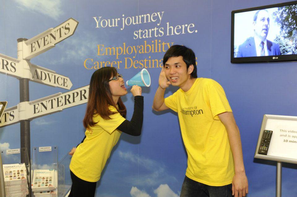 Các bạn sinh viên Việt Nam tại đại học Southampton