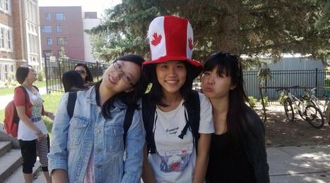Kết quả hình ảnh cho cuộc sống du học canada