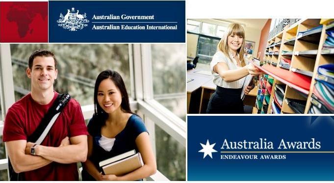 Học bổng chính phủ Úc Endeavour năm 2015