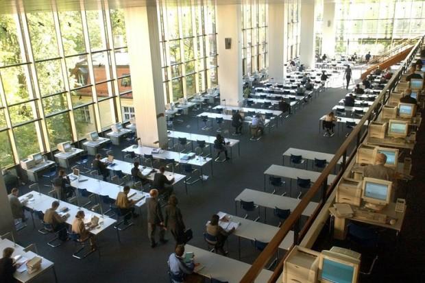 Bayerische Staatsbibliothek2 Du học Đức: đến München tìm hiểu đời sống sinh viên
