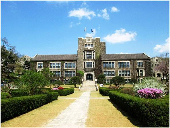 Một góc trường Yonsei
