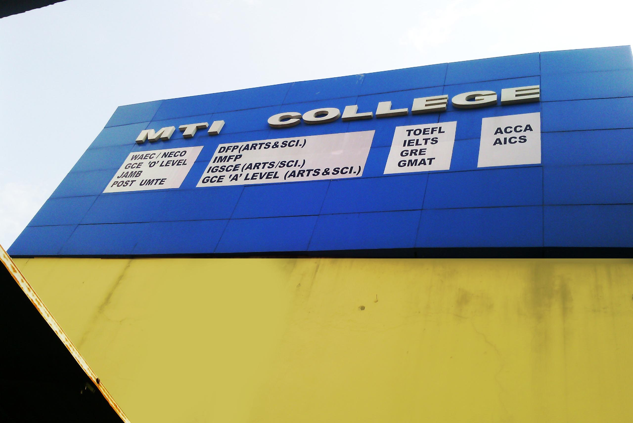MTI College Front