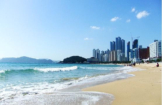 Bãi biển tuyệt đẹp tại Busan