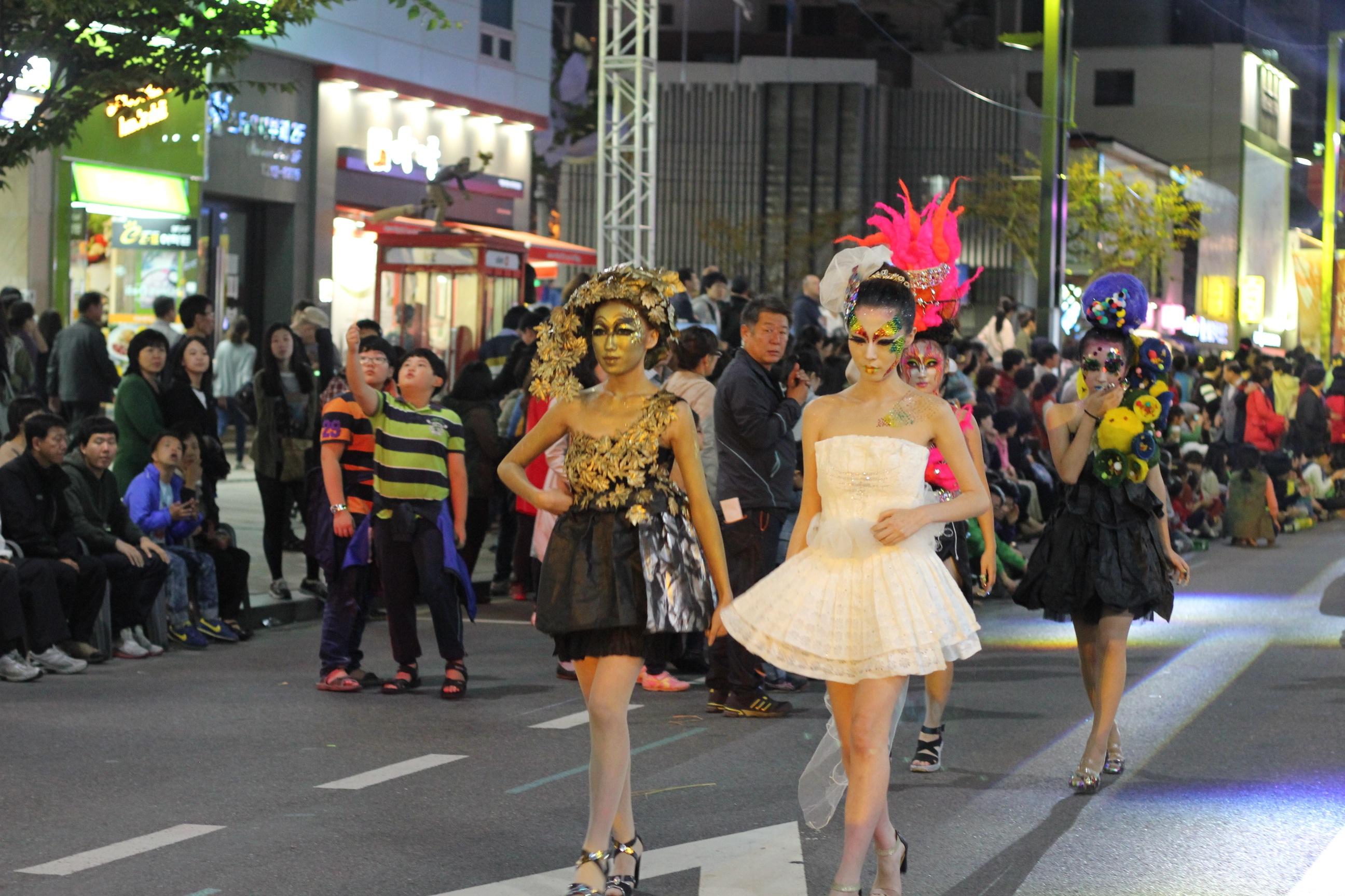 Daegu fashion street festival