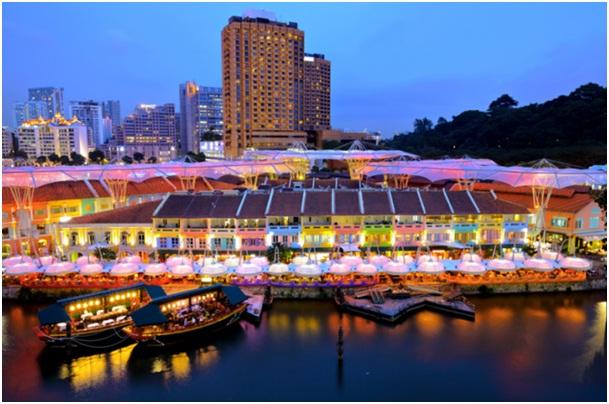 quan ven song Những điểm cộng tại Singapore khiến du học sinh mê mẩn