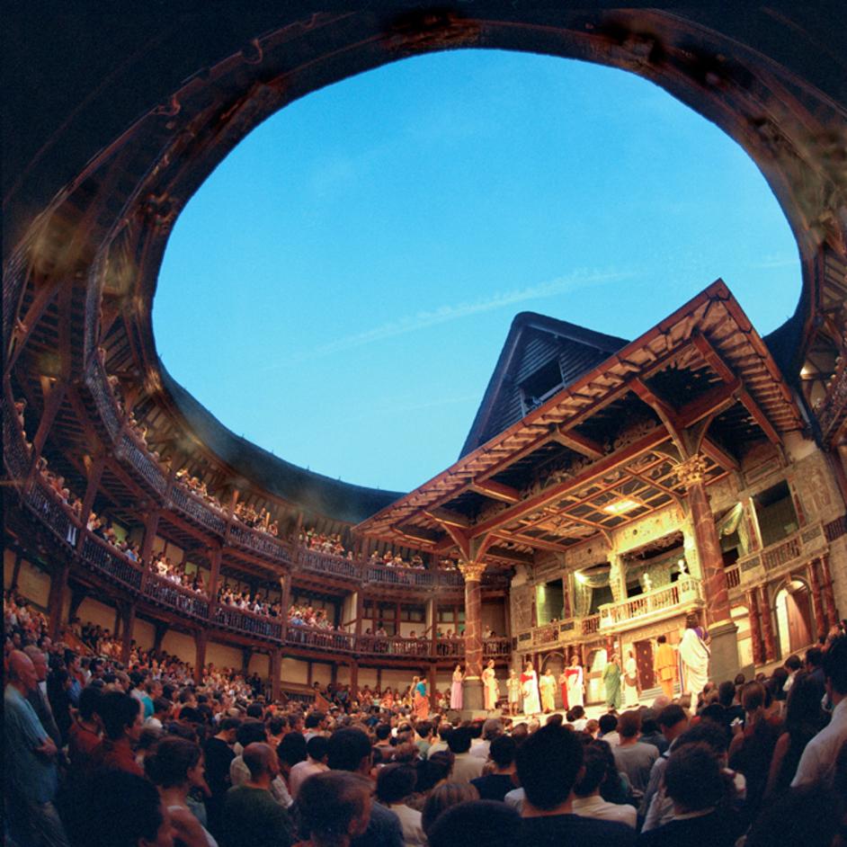 5.globe shakespeare in london