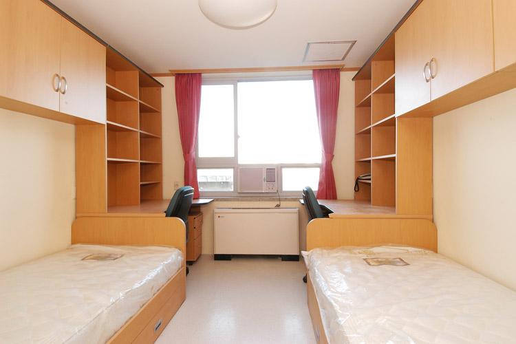1 phòng trong kí túc xá đại học Hanyang