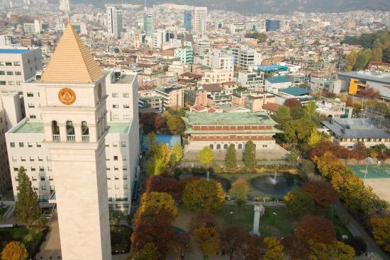 Tuyệt vời với cảnh sắc tại đại học Sejong