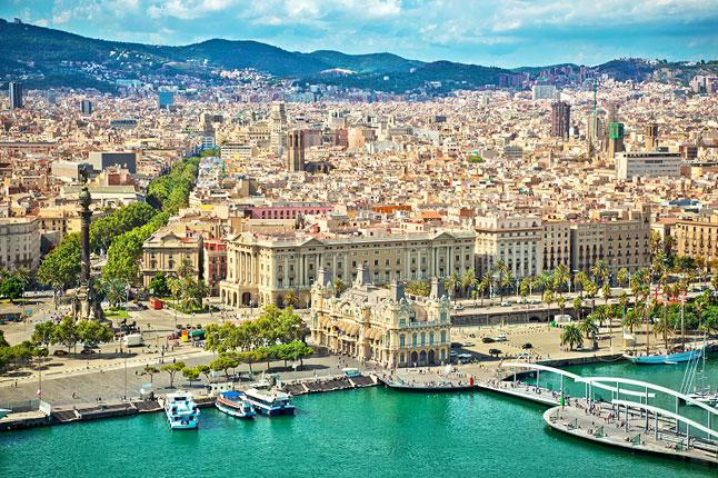 Thành phố Barcelona - nơi tọa lạc của UPF