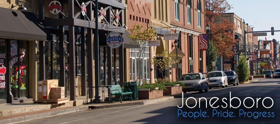 Bang Arkansas và thành phố Jonesboro tại Mỹ