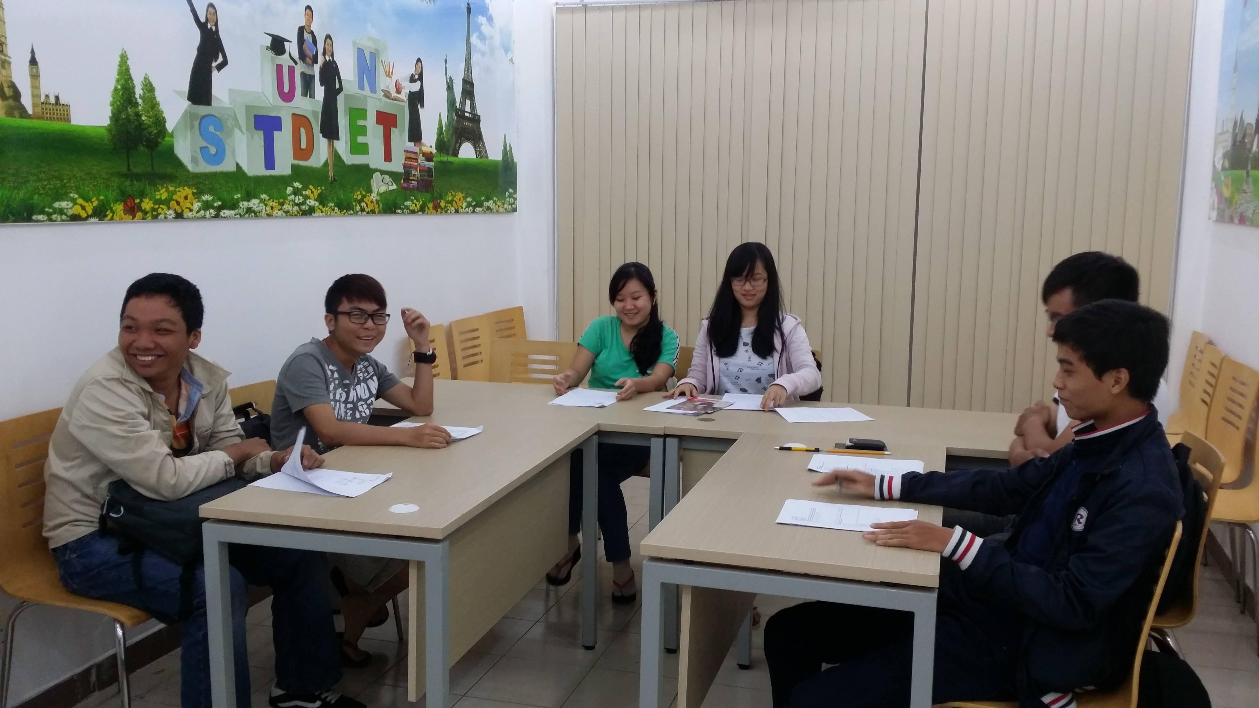 Lớp học tiếng Đức tại Amec
