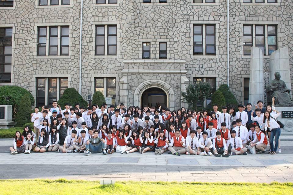 Đại học Chung-ang đang hướng tới trở thành một trường đại học chất lượng toàn cầu vào năm 2018