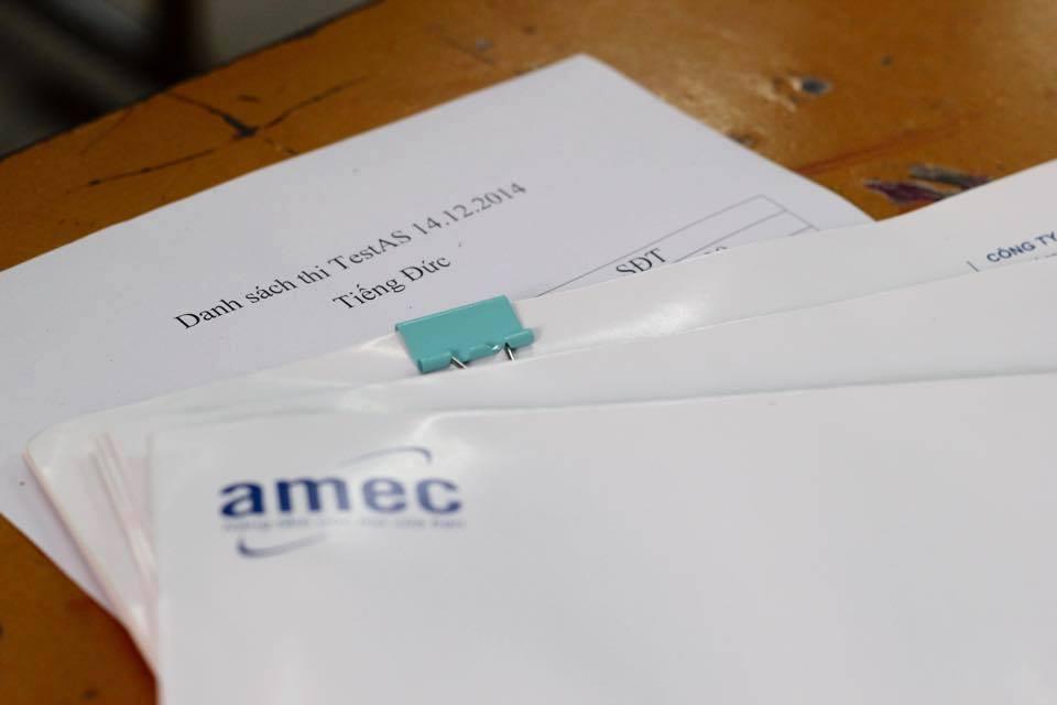 Kì thì thử Test As tại AMEC