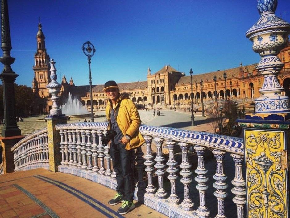 Bạn Lê Anh Toản du học sinh Tây Ban Nha học tập tại đại học UCAM