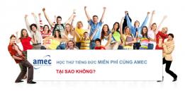 Học thử tiếng Đức MIỄN PHÍ cùng AMEC
