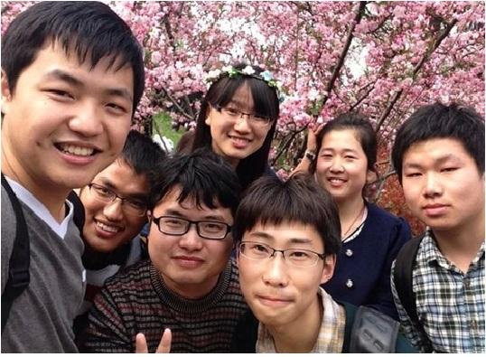 Các bạn sinh viên quốc tế tại đại học Dược