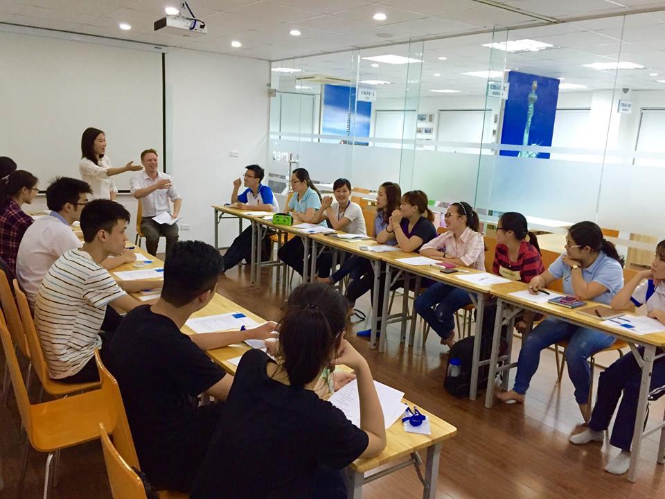 Lớp học tiếng Đức tại Hà Nội