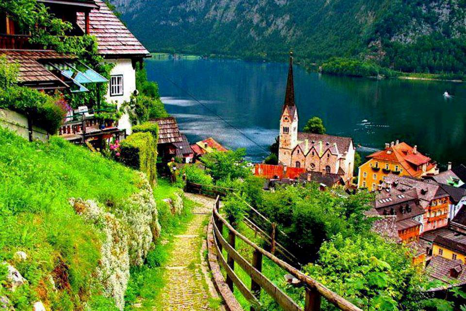 Nước Áo xinh đẹp thơ mộng