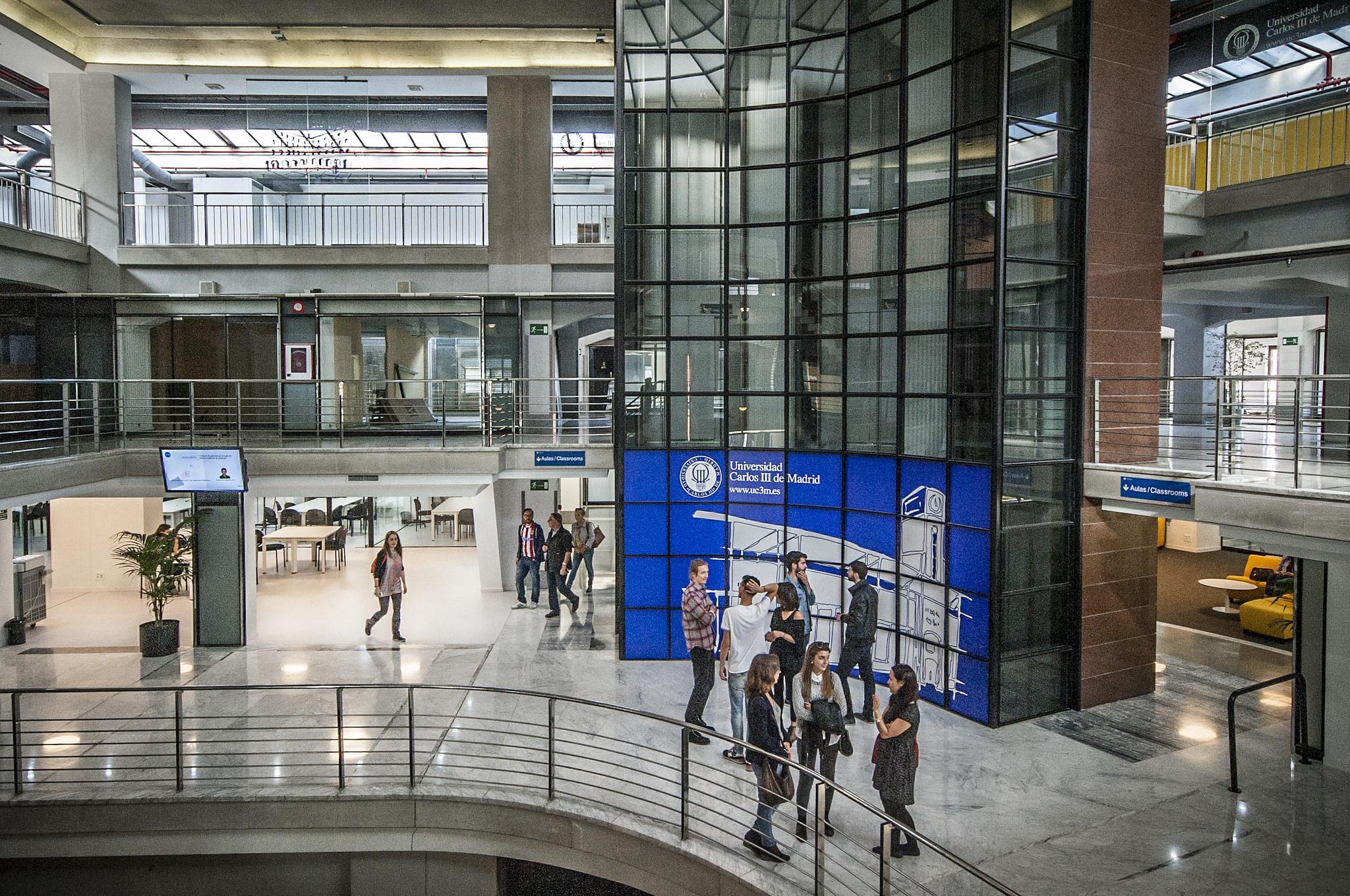 Đại học Carlos III Madrid – top 10 trường công Tây Ban Nha