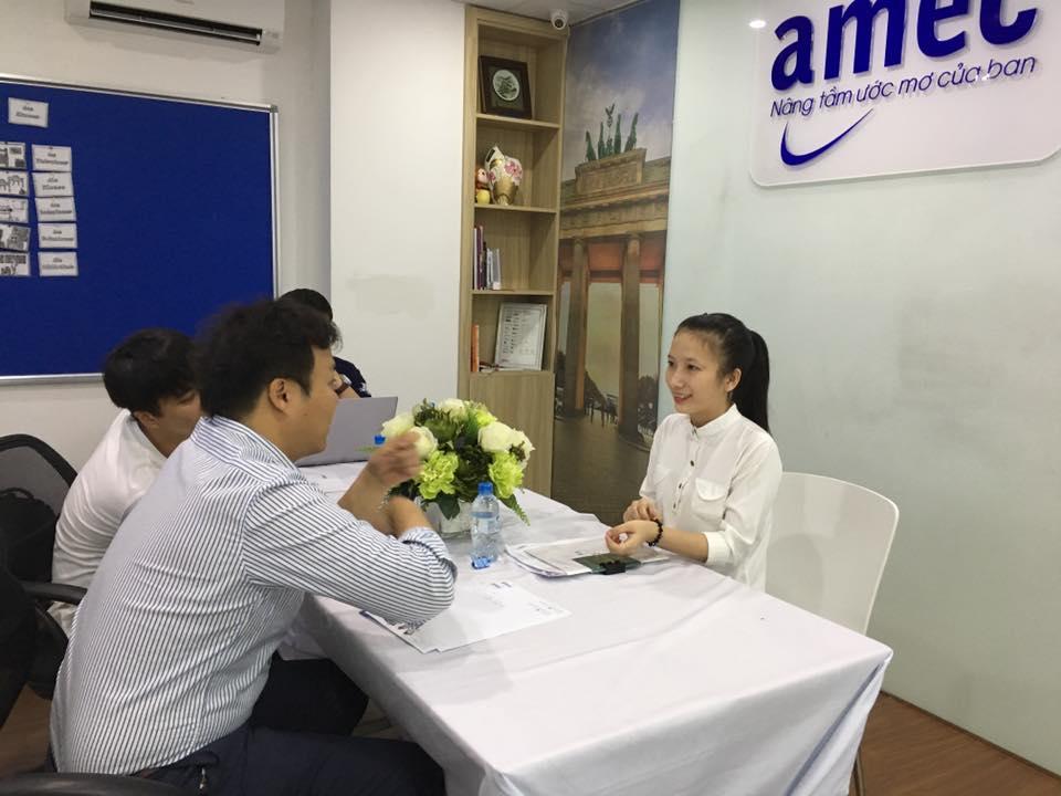 Phỏng vấn trực tiếp  với trường đại học Kookmin