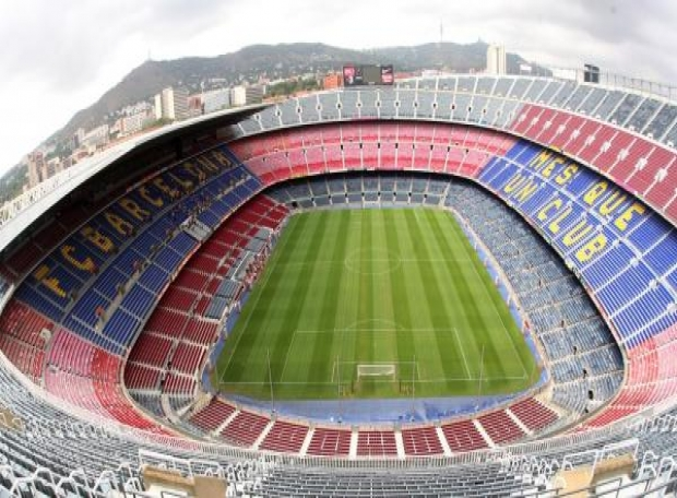 sân vận động Barcelona Tây Ban Nha