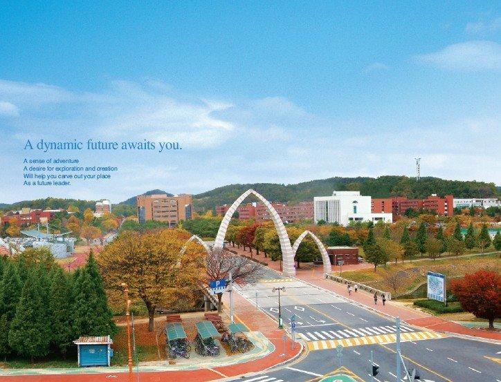 Đại học Gyeongsang – đại học quốc gia Hàn Quốc top 1% Visa thẳng