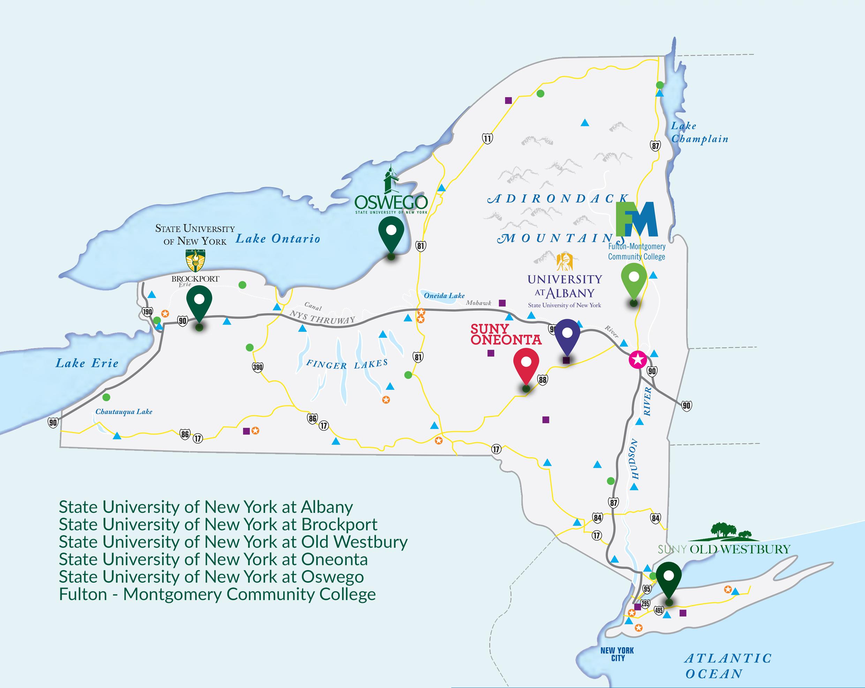 University at Albany – 1 trong 4 trường đại học công lập bang New York