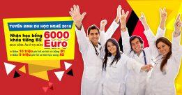 Tuyển sinh du học nghề điều dưỡng 2018 – Nhận học bổng trọn gói khóa tiếng B2 6000 Euro