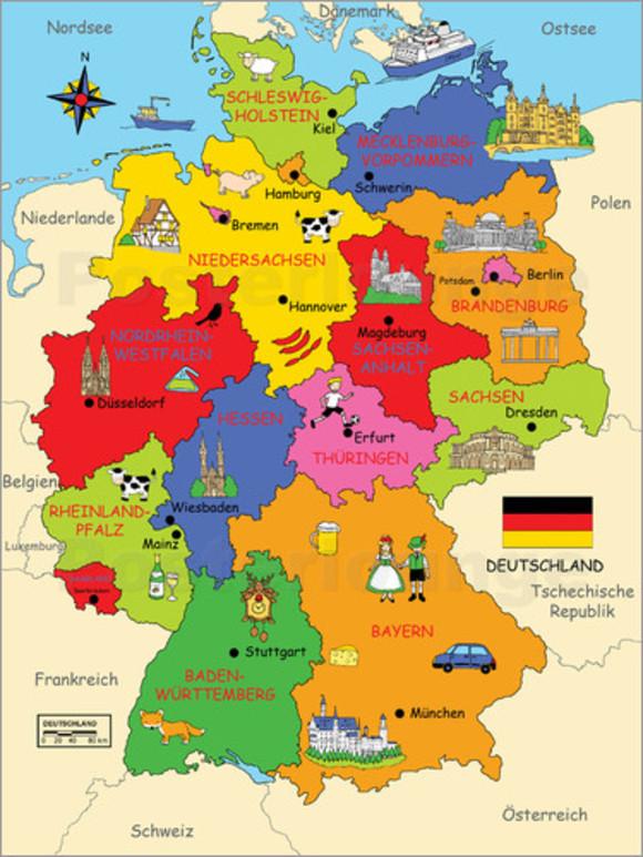 Danh Sách Trường Trung Học Phổ Thông Nội Trú tại Đức