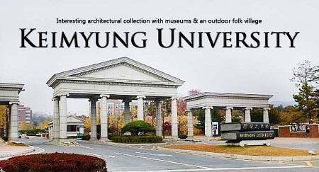 Đại học Keimyung – hồ sơ du học tối giản, visa dễ dàng 2018