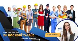 Tuyển sinh du học nghề tại Đức 2019 – 2020: Visa đảm bảo 100%