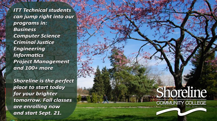 Shoreline College tại thành phố Seattle xinh đẹp